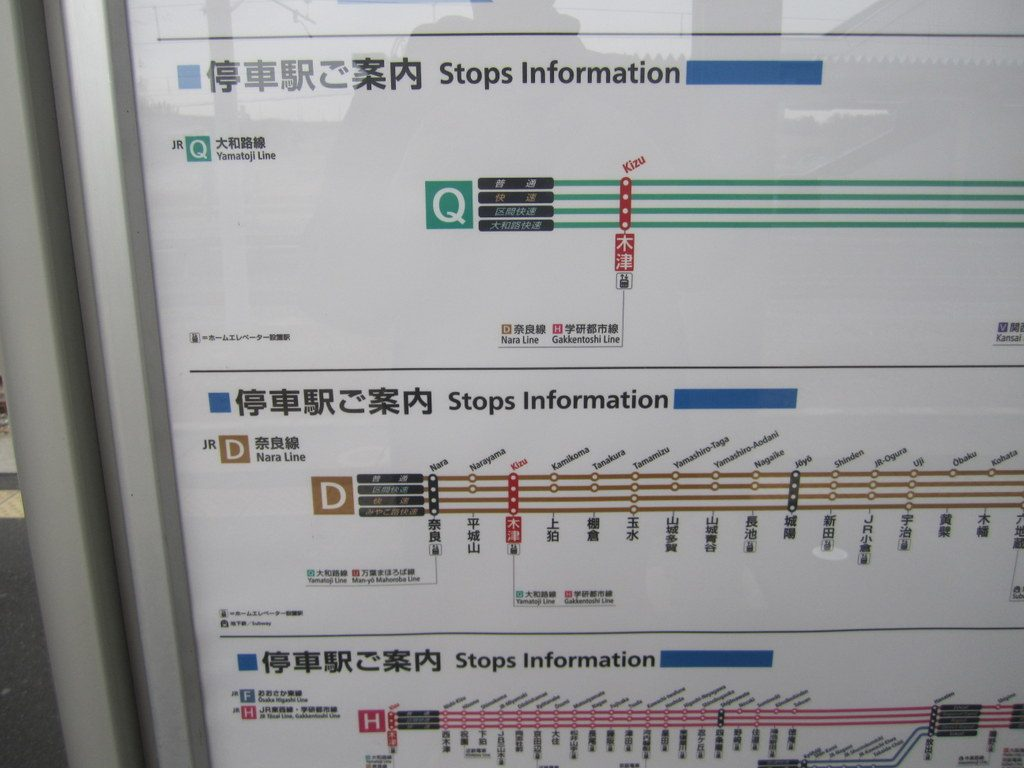 Kizu Train Station Stops Information